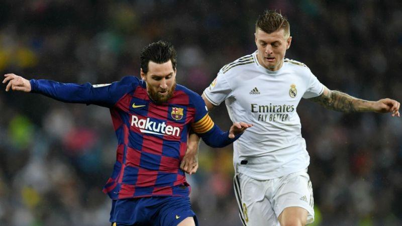 Kroos cho rằng Real có thể được lợi nhiều từ việc Messi đầu quân cho PSG. Ảnh: Reuters.