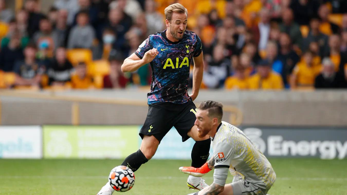 Kane bị Jose Sa từ chối ở phút 82. Ảnh: premierleague.com