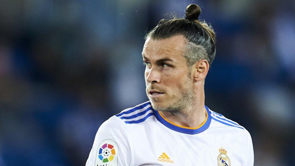 """Bale ยิงประตูแรกของเขาในลาลีกาในฤดูกาลนี้ แต่ไม่สามารถช่วยให้เรอัลเอาชนะเลบานเต้ได้  ภาพถ่าย: """"Marca ."""""""