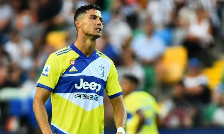 Ronaldo bị từ chối bàn thắng ở những phút cuối. Ảnh: Reuters.