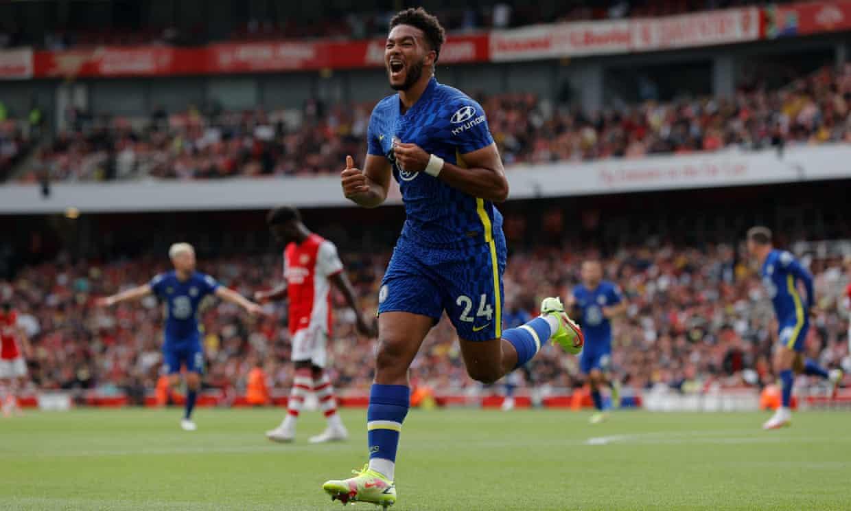 Reece James ghi một bàn và kiến tạo một bàn cho Lukaku. Ảnh: The Guardian