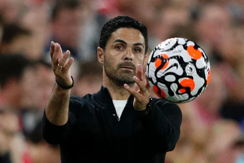 Theo báo Anh Telegraph, Arteta có năm trận để thuyết phục ban lãnh đạo Arsenal không sa thải ông. Ảnh: AFP
