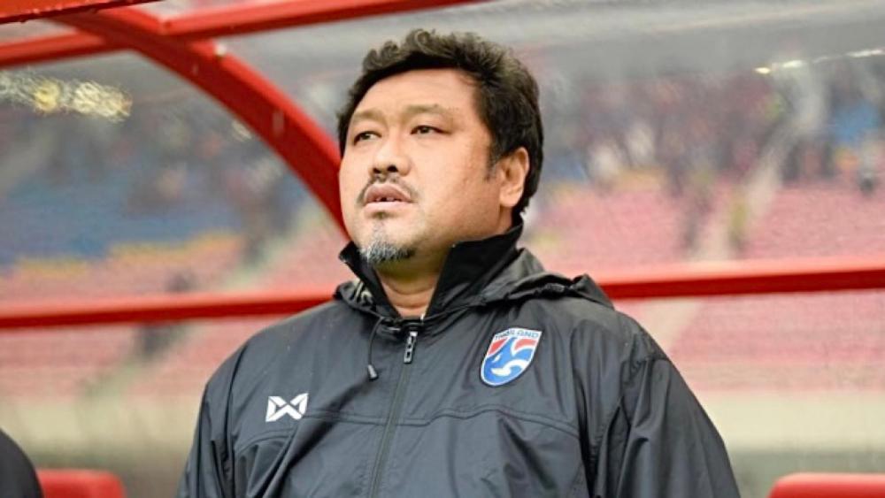 Worrawoot là một trong ba ứng viên bản địa nắm đội U23 Thái Lan. Ảnh: Thairath