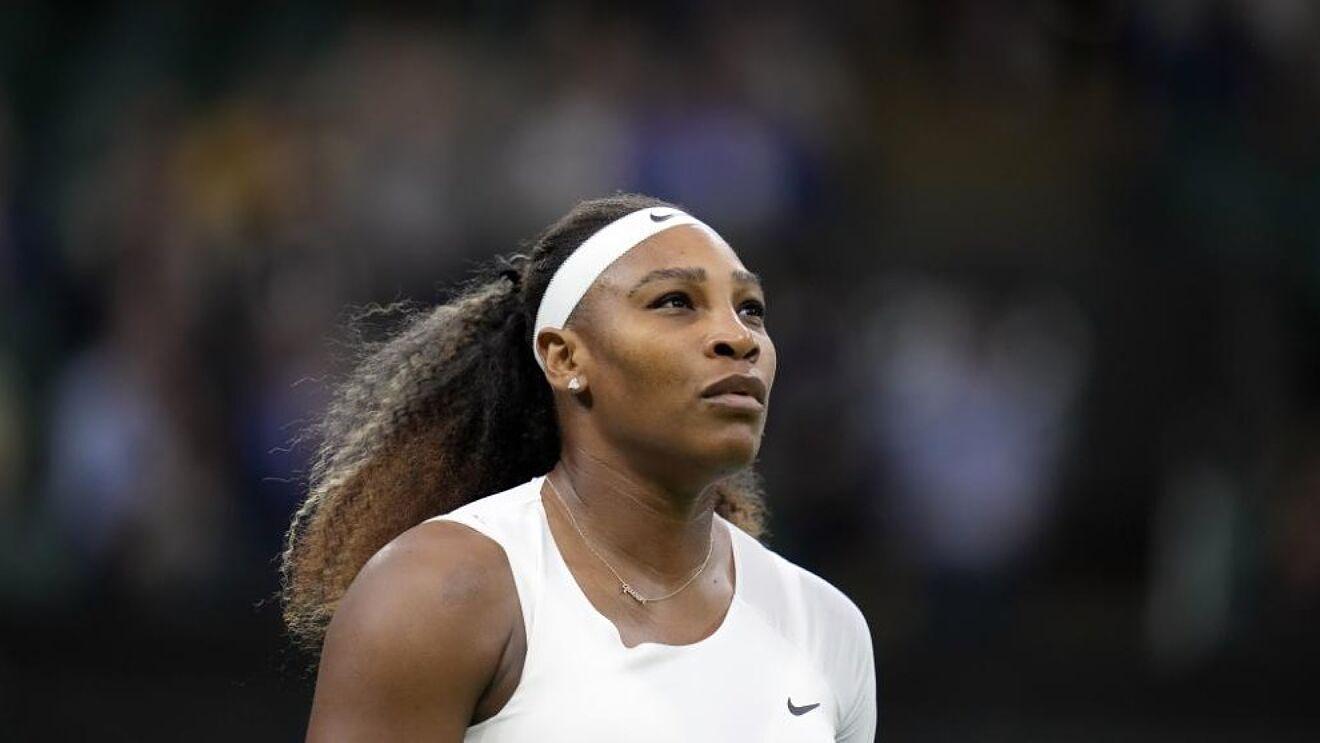 Serena đã tụt xuống vị trí 22 WTA, theo bảng điểm công bố hôm 23/8. Ảnh: Wimbledon