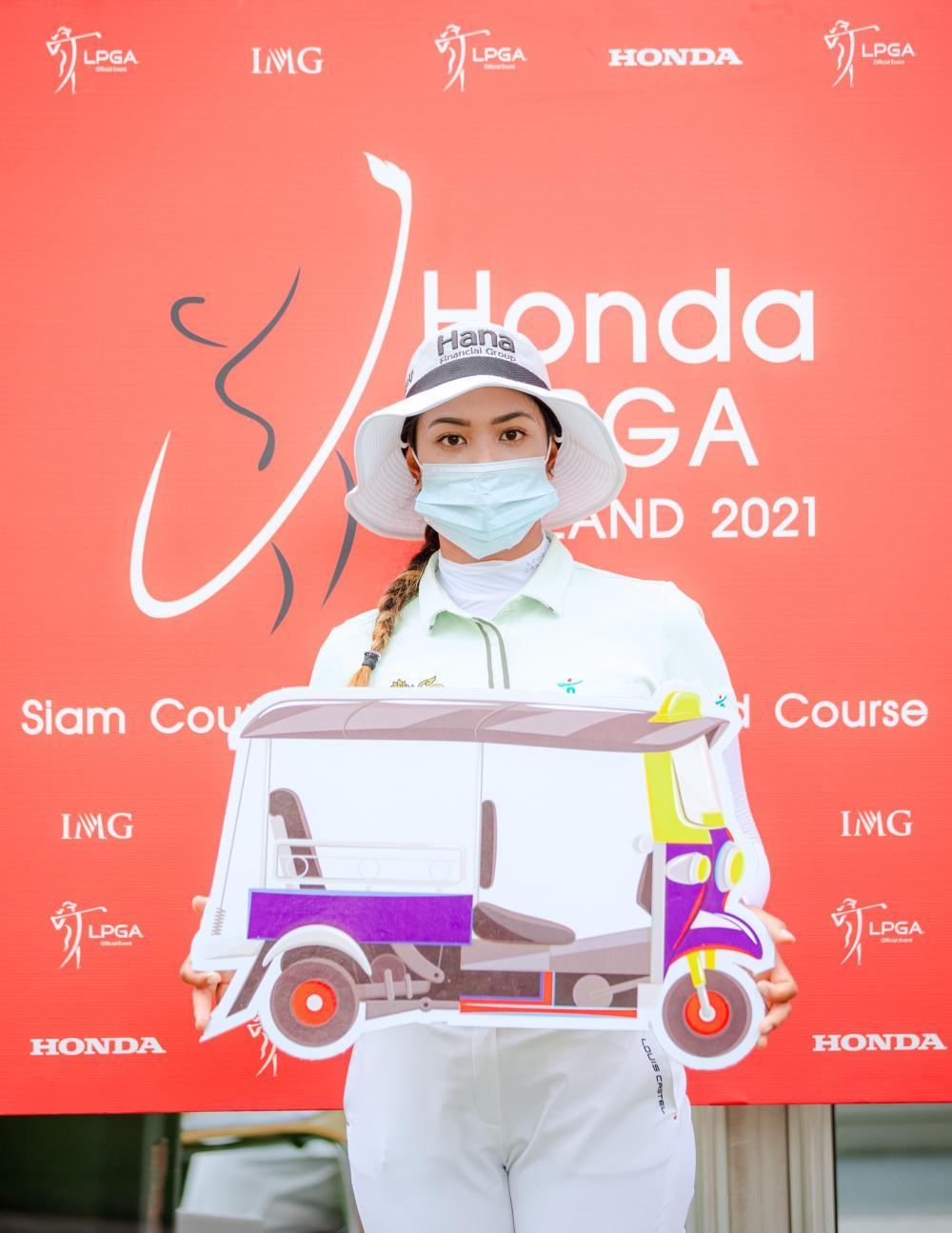 Honda LPGA Thailand is the place where many Thai golfers fly high in their careers on the LPGA Tour.  Photo: Bangkok Post