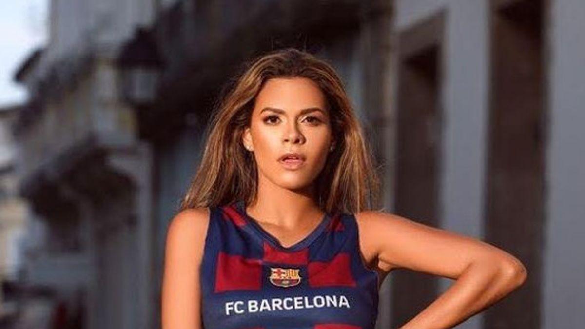 Sandien là một fan cuồng của Barca.