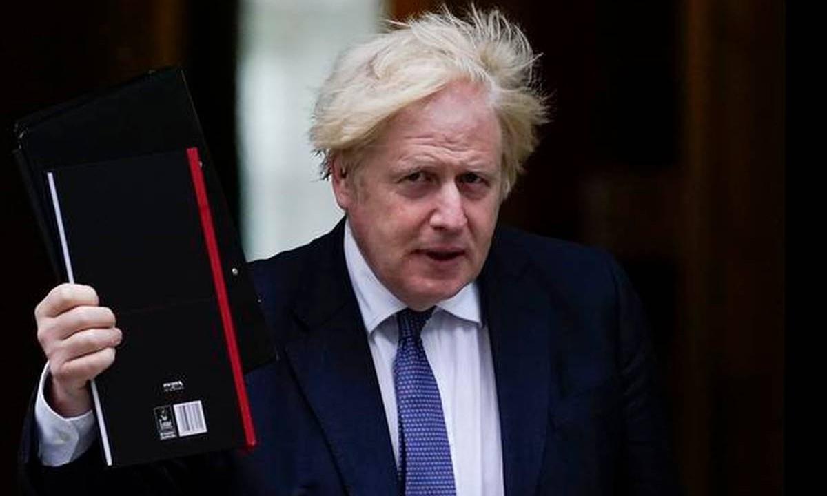 นายกรัฐมนตรีอังกฤษ บอริส จอห์นสัน ปฏิเสธข้อเสนอจากฟีฟ่า  ภาพ: สำนักข่าวรอยเตอร์