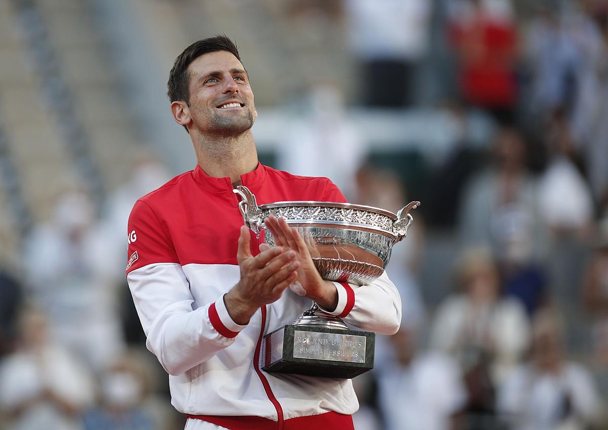Djokovic thắng mọi giải lớn thuộc ATP ít nhất hai lần mỗi giải. Ảnh: Roland Garros