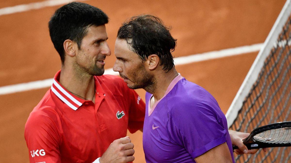 Djokovic xem việc hạ Nadal hai lần tại Roland Garros là chiến công lớn nhất sự nghiệp. Ảnh: Roland Garros