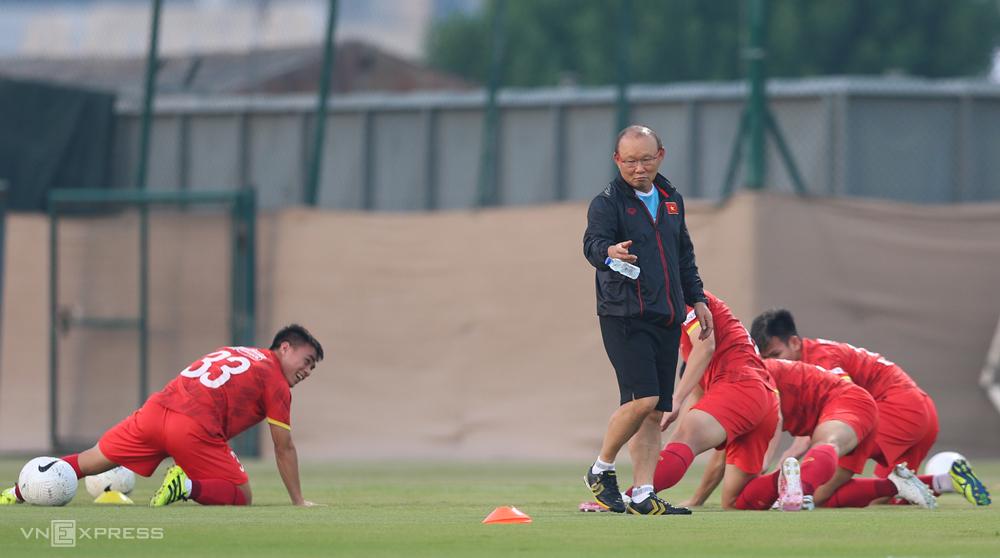 Thầy trò HLV Park Hang-seo đã sẵn sàng cho vòng loại thứ ba World Cup 2022 - khu vực châu Á. Ảnh: Lâm Thoả