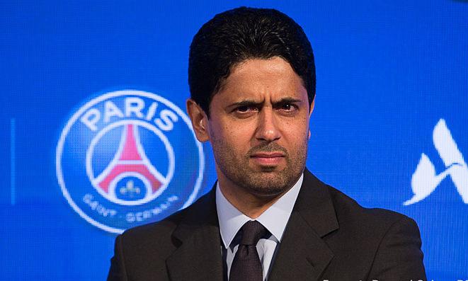 Chủ tịch Al Khelaifi được cho là không muốn bán Mbappe bằng mọi giá. Ảnh: CulturePSG