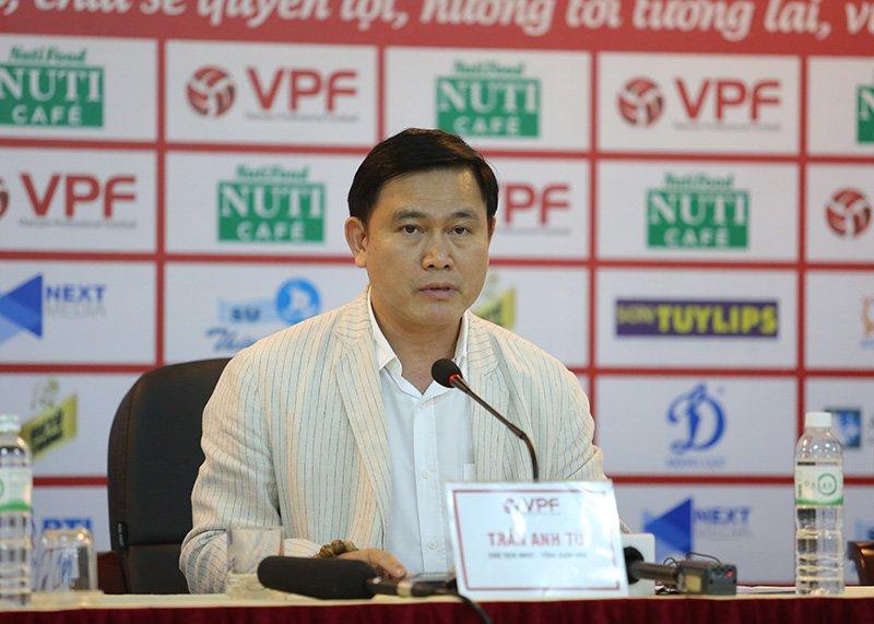 Ông Trần Anh Tú đang giữ vai trò Chủ tịch VPF ở nhiệm kỳ thứ hai.