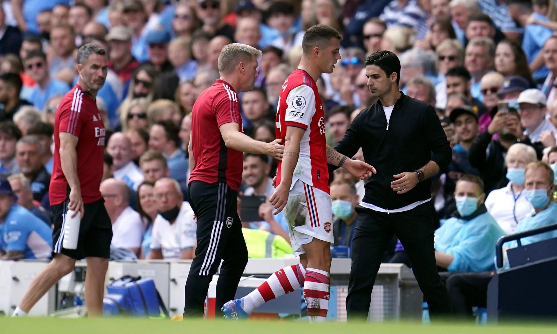 Arteta เผชิญกับความเสี่ยงที่จะถูกไล่ออกเมื่อ Arsenal มือเปล่าหลังจากสามรอบแรก  รูปถ่าย: ป.