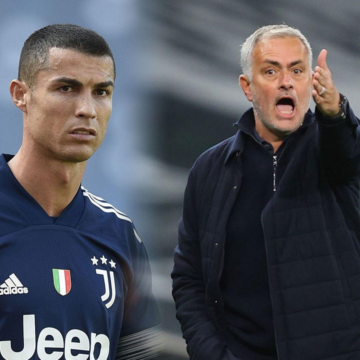 Mourinho cho rằng việc Ronaldo rời Juventus để trở lại Man Utd là tốt cho cả ba bên. Ảnh: Mirror
