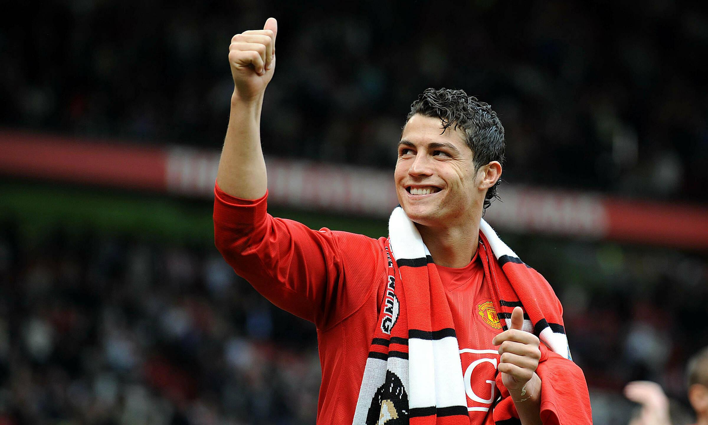 Ronaldo sẽ trở lại Man Utd sau 12 năm xa cách. Trong chín năm khoác áo Man Utd giai đoạn 2003-2009, anh ghi 118 bàn qua 292 trận. Ảnh: AFP