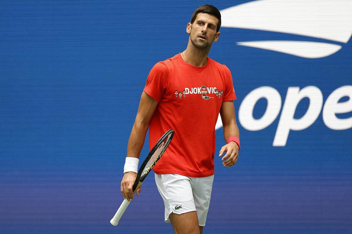 Djokovic thắng 38, thua 5 trận và đoạt bốn danh hiệu từ đầu năm 2021. Ảnh: ATP