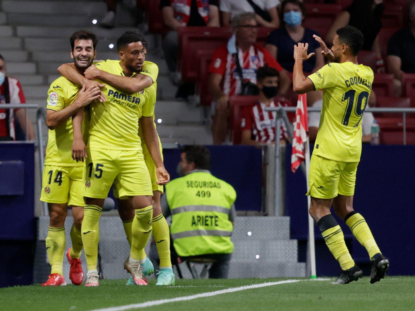 Villarreal nhẫn nhịn trong hiệp một, trước khi chơi bùng nổ ở hiệp hai với nhiều pha phản công sắc sảo. Ảnh: Marca