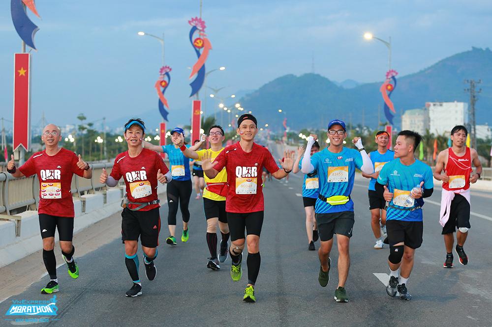 Athletes on the track VM Quy Nhon 2020. Photo: VM
