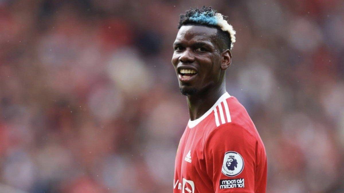 "Pogba เพิ่งชนะ 1 League Cup และ 1 Europa League ในเสื้อ Man Utd  ภาพถ่าย: ""Sky"""