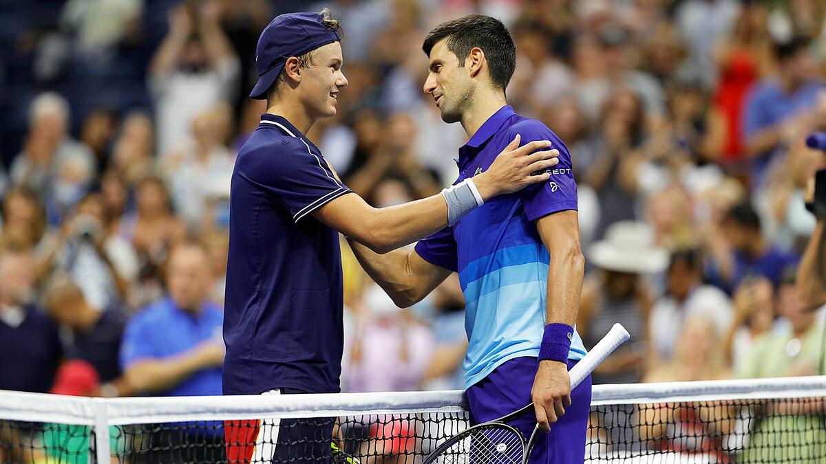 Sau Rune, Djokovic gặp một tay vợt khác ngoài top 100 ATP là Tallon Griekspoor ở vòng hai. Ảnh: ATP