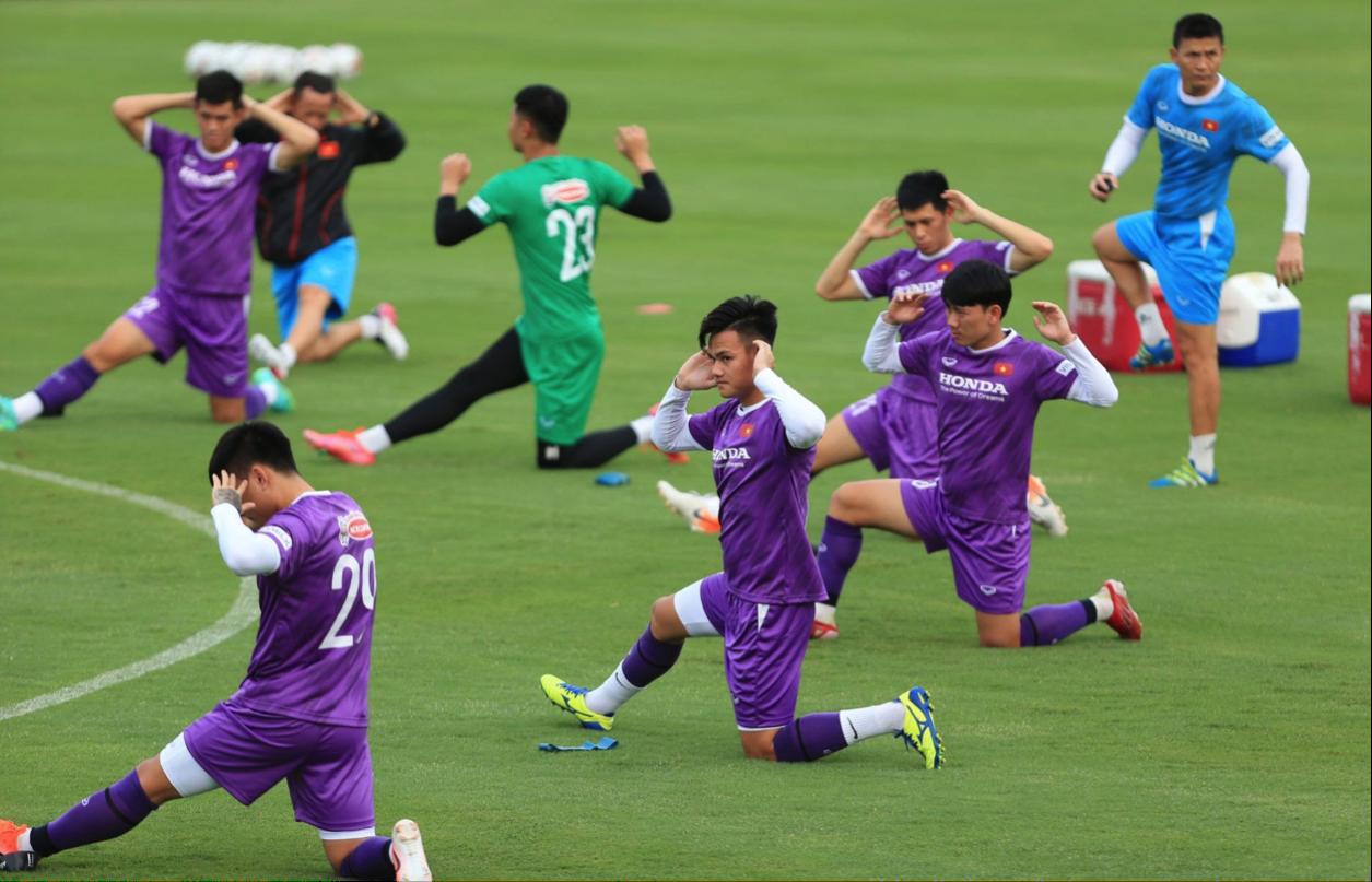 ทีมเวียดนามเตรียมการอย่างรอบคอบก่อนไปซาอุดิอาระเบีย  ภาพ: เอเอฟซี