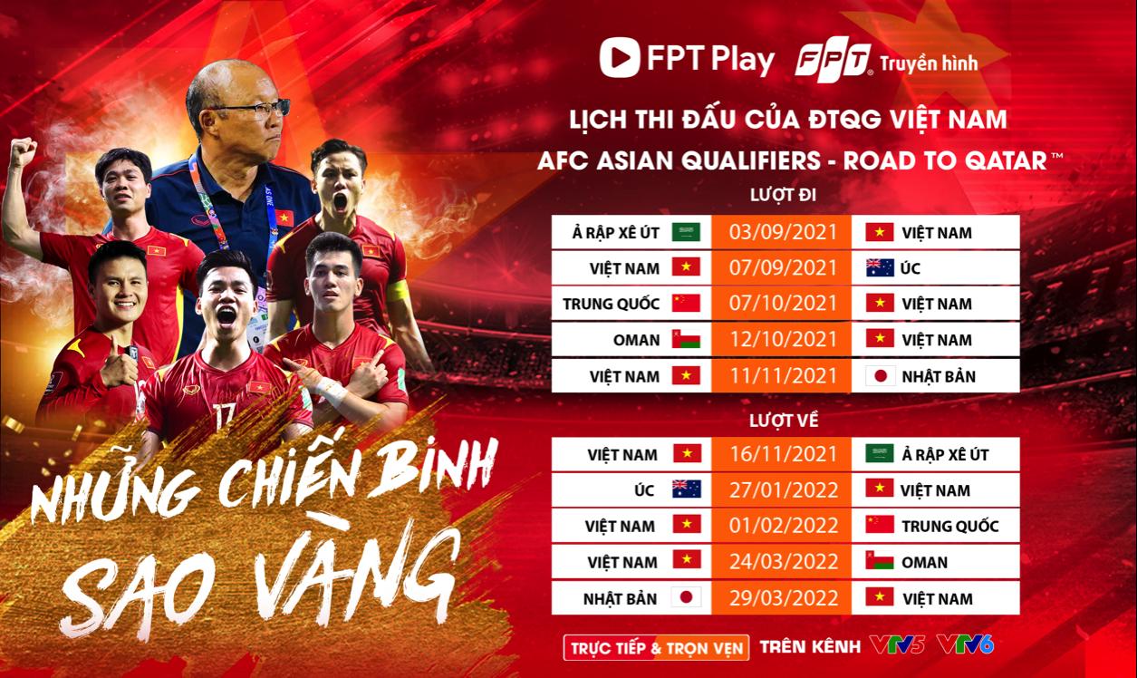 VTV จับมือ FPT ถ่ายทอดสดบอลโลกรอบคัดเลือกรอบที่ 3 - 2