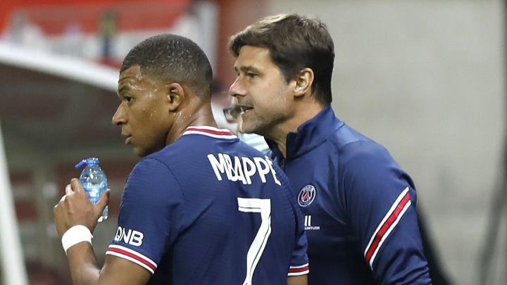 Mbappe sẽ thi đấu cho PSG đến hết hợp đồng. Ảnh: Europa Press.
