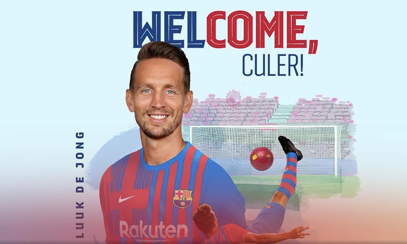 Barca đưa tên binh thứ năm về Camp Nou trong hè 2021. Ảnh: FCB