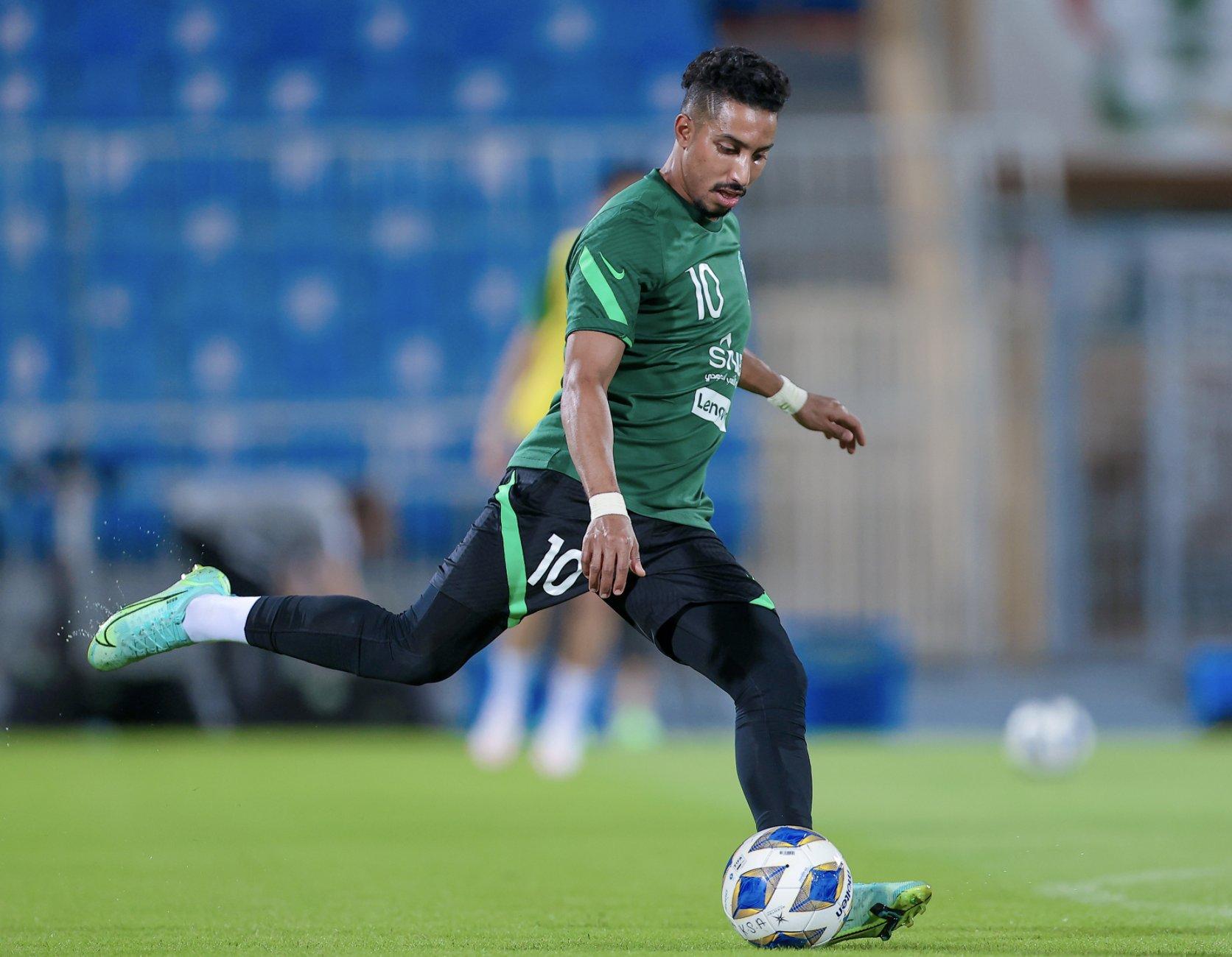 Dawsari có thể là cầu thủ nguy hiểm nhất bên phía Saudi Arabia. Ảnh: Saudi NT