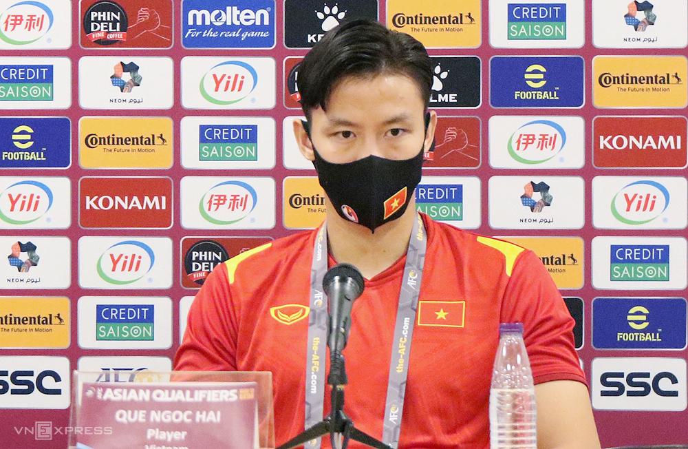 Quế Ngọc Hải cho biết World Cup luôn nằm trong giấc mơ của mọi người Việt Nam.
