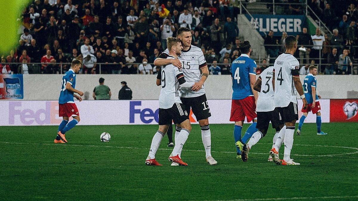 Đức áp đảo nhưng không thể ghi nhiều bàn vào lưới Liechtenstein. Ảnh: ESPN