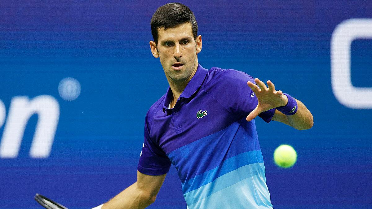 Djokovic có 32 điểm winners và mắc 20 lỗi tự đánh hỏng ở vòng hai Mỹ Mở rộng. Ảnh: Twitter