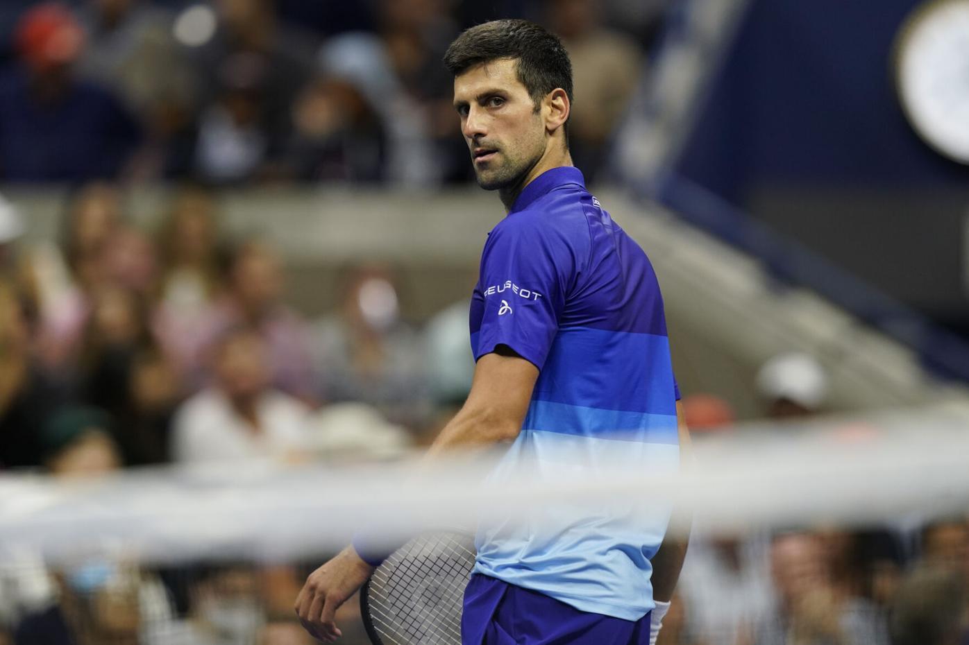 Djokovic còn cách kỷ lục 21 Grand Slam năm trận thắng. Ảnh: US Open