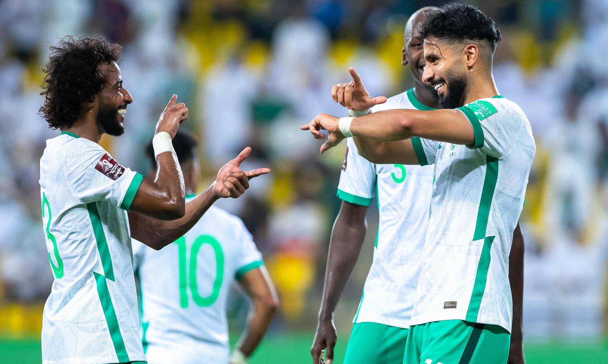 Saudi Arabia vượt khó để hoàn thành mục tiêu giành ba điểm trước Việt Nam.