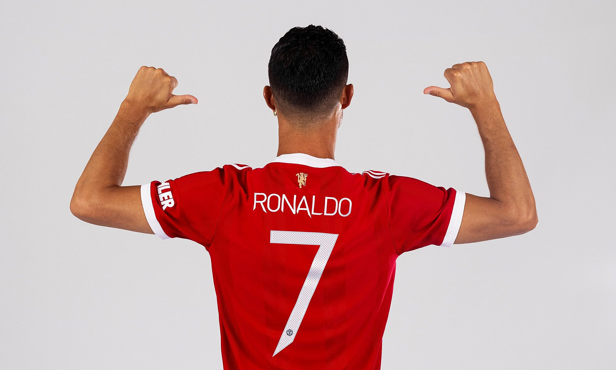 Man Utd công bố áo số 7 của Ronaldo trên các nền tảng truyền thông của CLB vào tối 2/9, giờ London. Ảnh: manutd.com