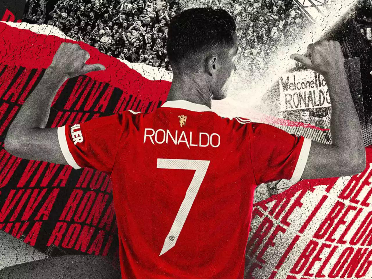 """การกลับมาสู่ Man Utd อาจเป็นความท้าทายครั้งใหญ่ครั้งสุดท้ายในอาชีพที่โด่งดังของ CR7  ภาพถ่าย: """"manutd.com"""""""