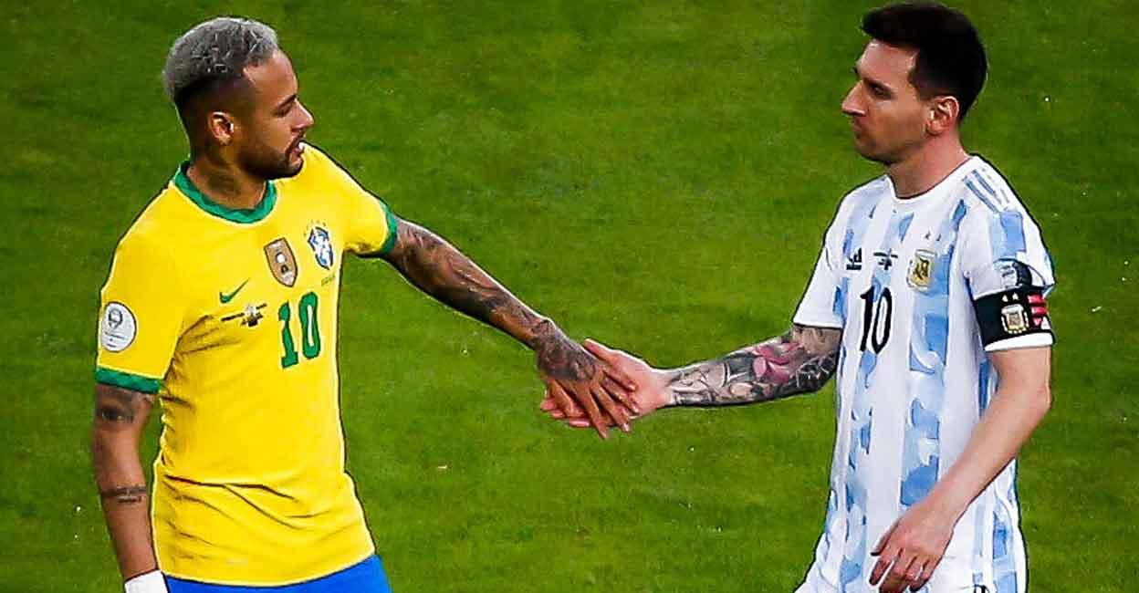 Neymar và đồng đội sẽ phải bảo vệ kỷ lục bất bại dài nhất trên sân nhà ở vòng loại World Cup trước sự đe doạ của Argentina. Ảnh: IANS