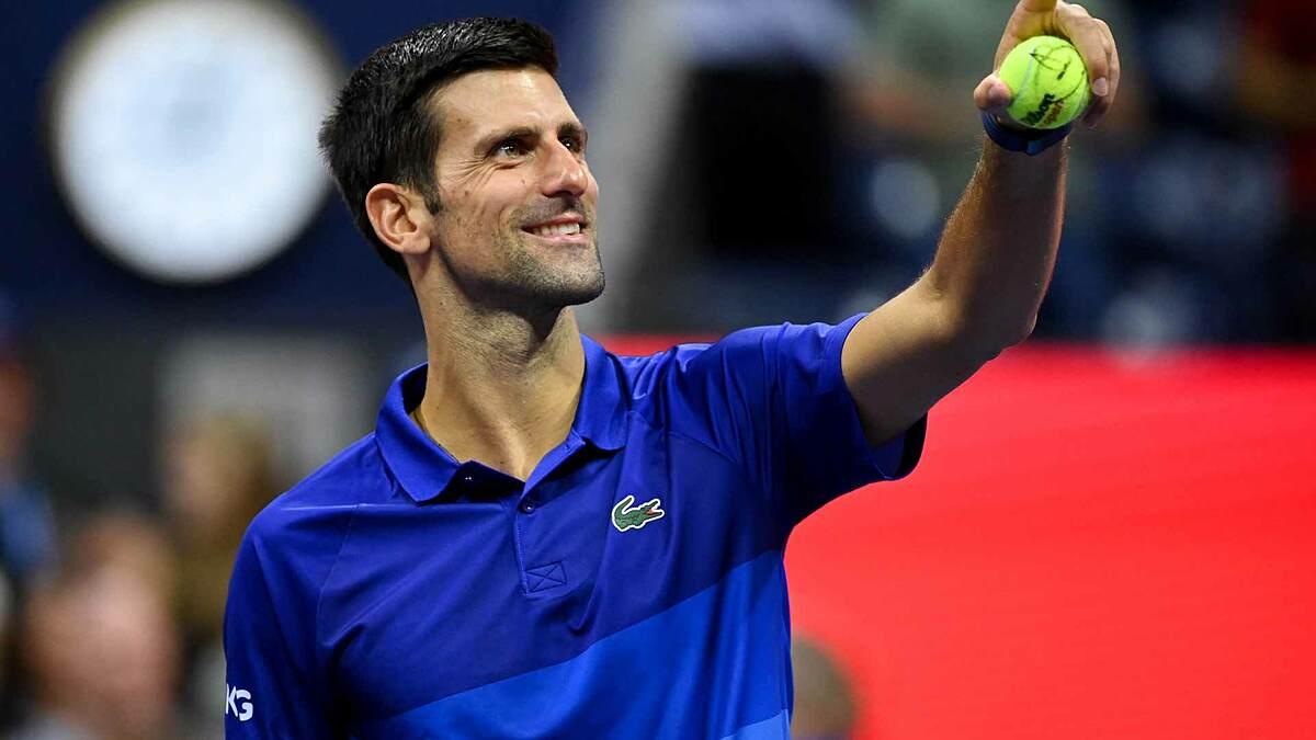 Djokovic lần đầu vào tứ kết Mỹ Mở rộng kể từ 2018. Ảnh: US Open
