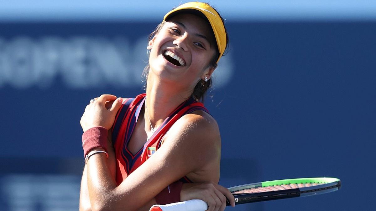 Mỹ Mở rộng 2021 mới là Grand Slam thứ hai trong sự nghiệp của Raducanu. Ảnh: US Open