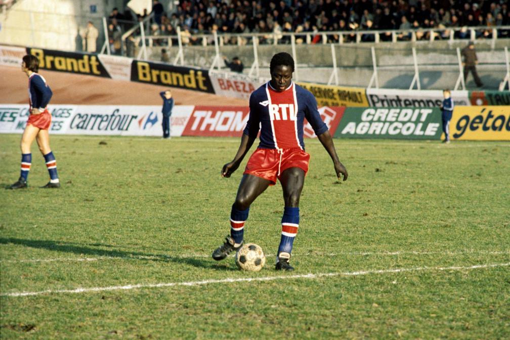 Adams trong màu áo PSG giai đoạn 1977-1979. Ảnh: LÉquipe