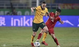 Việt Nam thua sát nút Australia