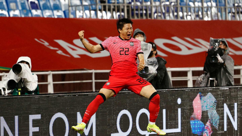 Kwon Chang-Hoon mừng bàn duy nhất của trận đấu. Ảnh: AFC