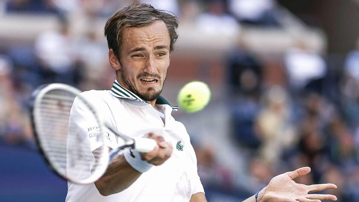 Mỹ Mở rộng là Grand Slam thành công nhất của Medvedev tới lúc này. Ảnh: US Open