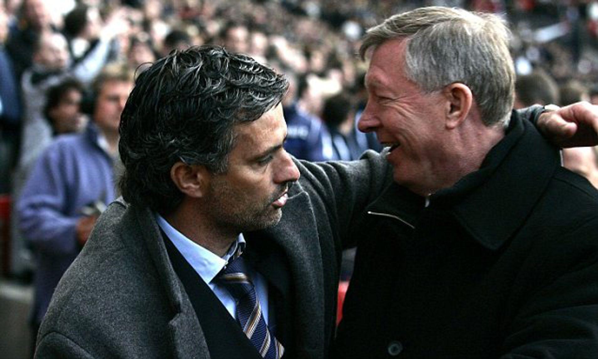 Mourinho dulu sering bersaing dengan Ferguson saat memimpin Porto, Chelsea, Inter menghadapi Man Utd. Foto: Gambar PA