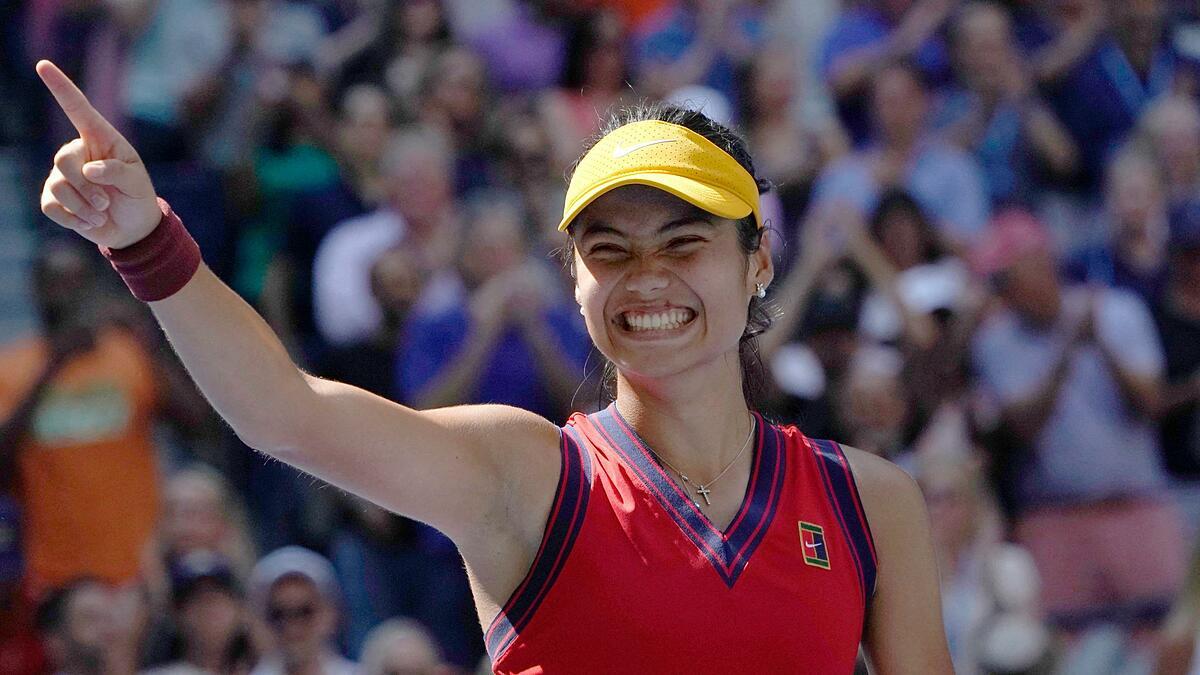Raducanu belum memainkan final WTA Tour sebelum US Open 2021. Foto: US Open