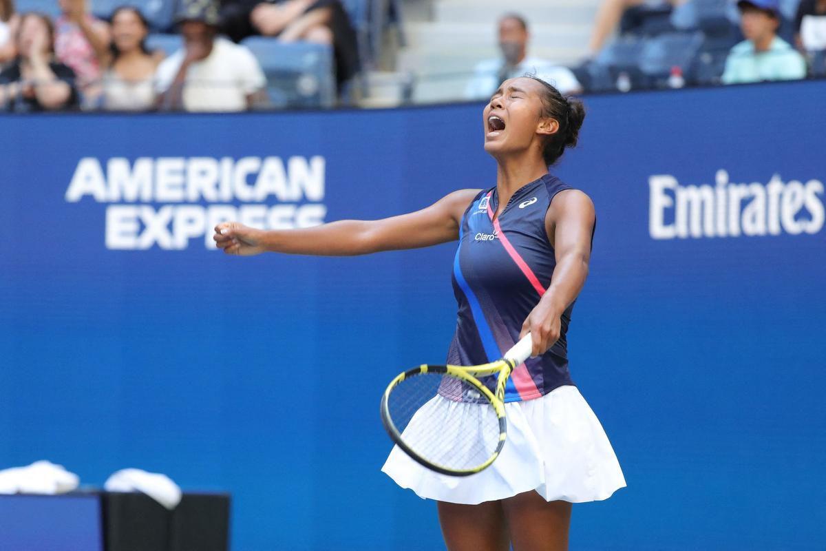Fernandez kehilangan lima unggulan dalam perjalanannya ke final AS Terbuka.  Foto: WTA