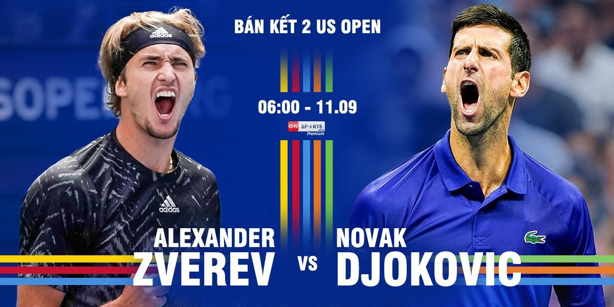Djokovic melihat Zverev sebagai tantangan utama - 1