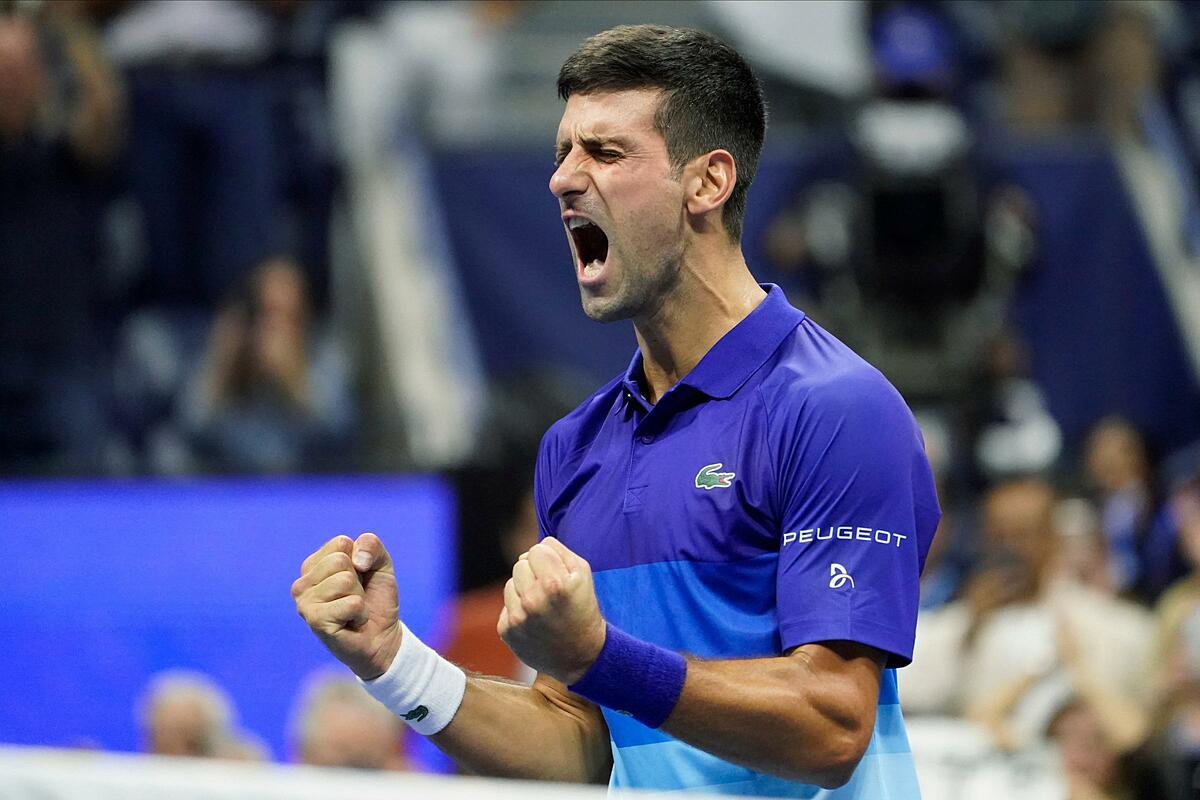 Chưa ai hạ được Djokovic ở Grand Slam mùa này. Ảnh: US Open