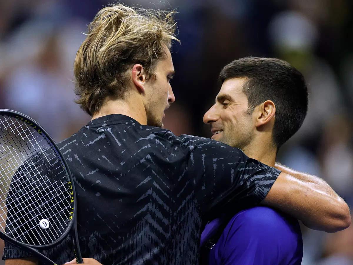 Zverev thua cả ba lần gặp Djokovic ở Grand Slam. Ảnh: US Open