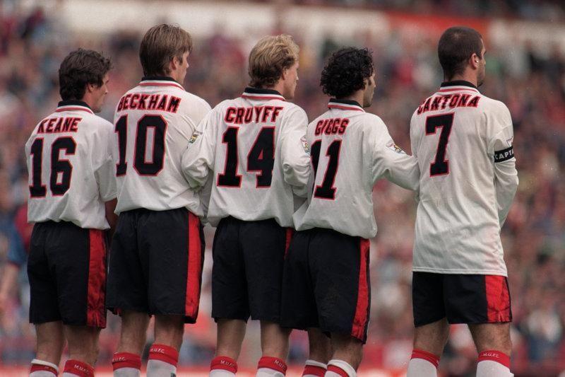Thế hệ Keane, Beckham, Cruyfff và Giggs từng được hưởng lợi nhờ chơi cạnh Cantona giai đoạn 1992-1997. Và Ronaldo được kỳ vọng sẽ mang lại hiệu ứng tương tự với lứa cầu thủ trẻ Man Utd hiện tại. Ảnh: PA